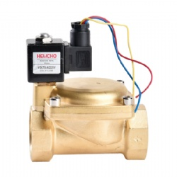 Large Diameter Pilot Operated Solenoid Valve Normally Closed